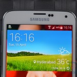 Samsung Galaxy S5 Front Top