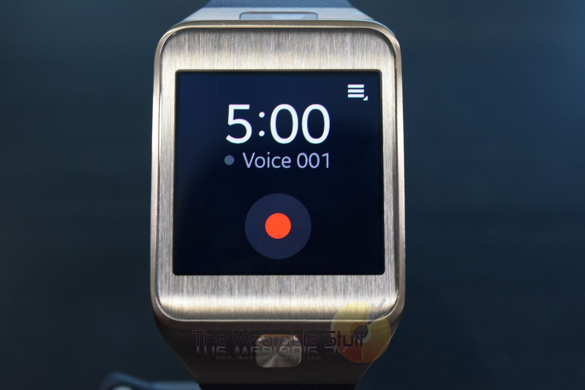 Samsung Gear 2 Record Voice 1