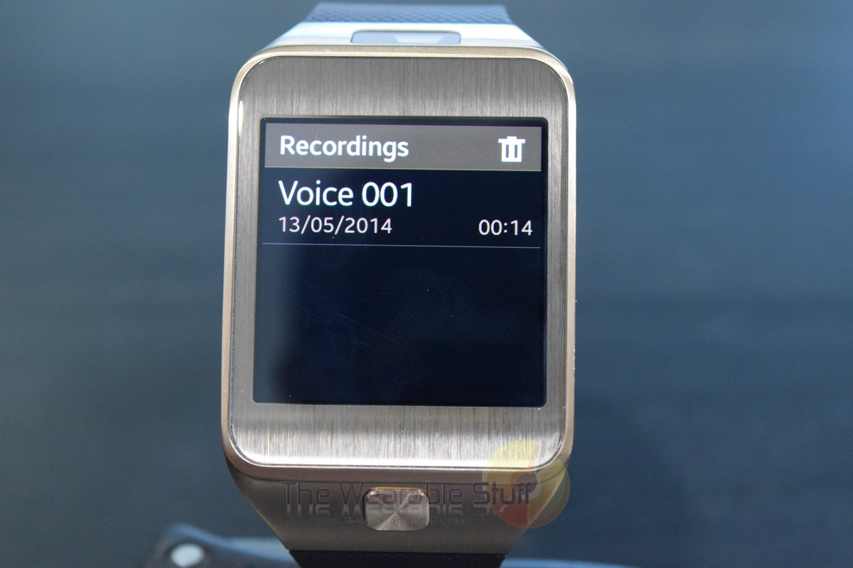 How to Record Voice using Samsung Gear 2 Smartwatch [Voice ...