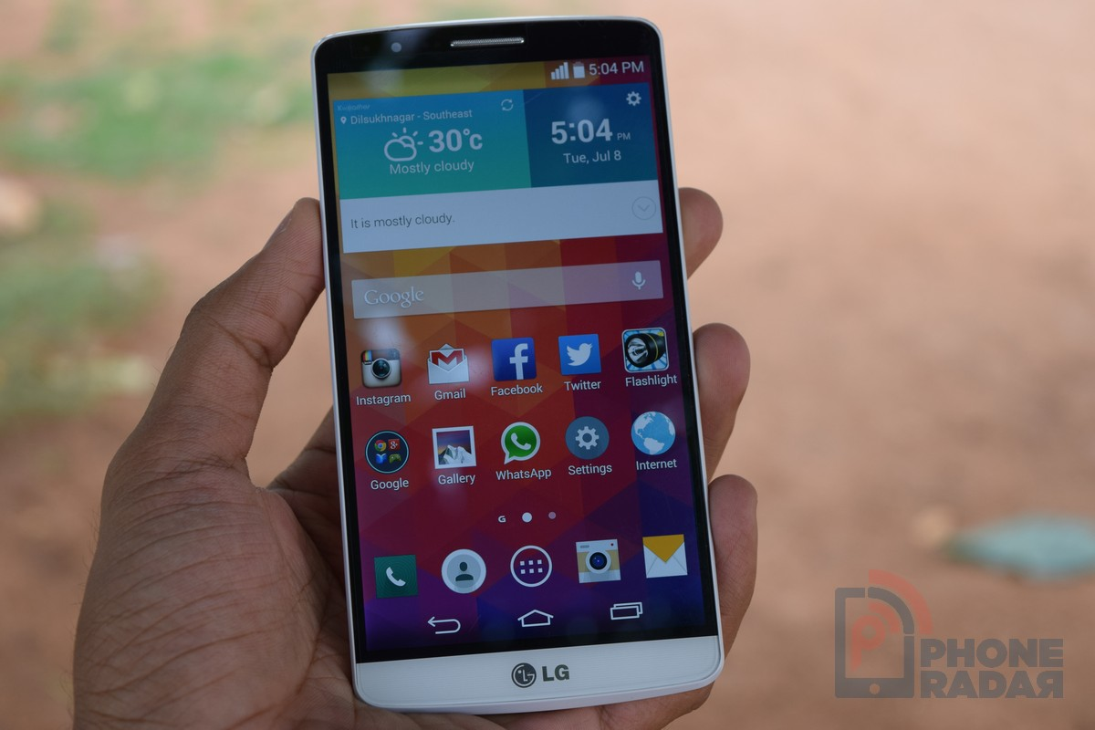 LG G3 Hands-on