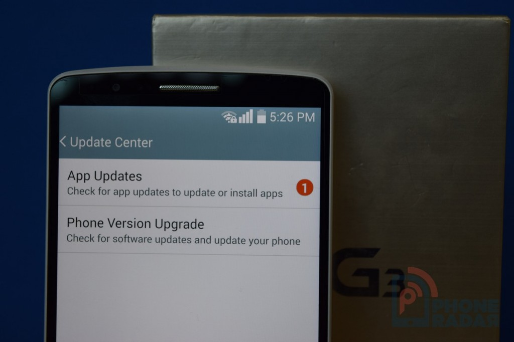 LG G3 Tip Update Center