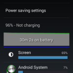 Lava Iris X1 Battery - Normal use 1