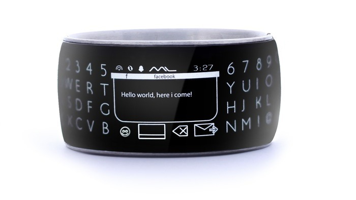 Moment Wrap Around smartwatch