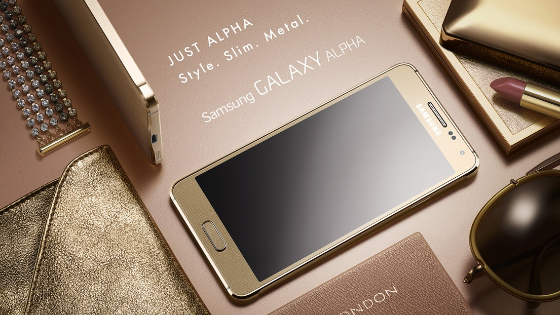 Samsung Galaxy Alpha Metal Frame