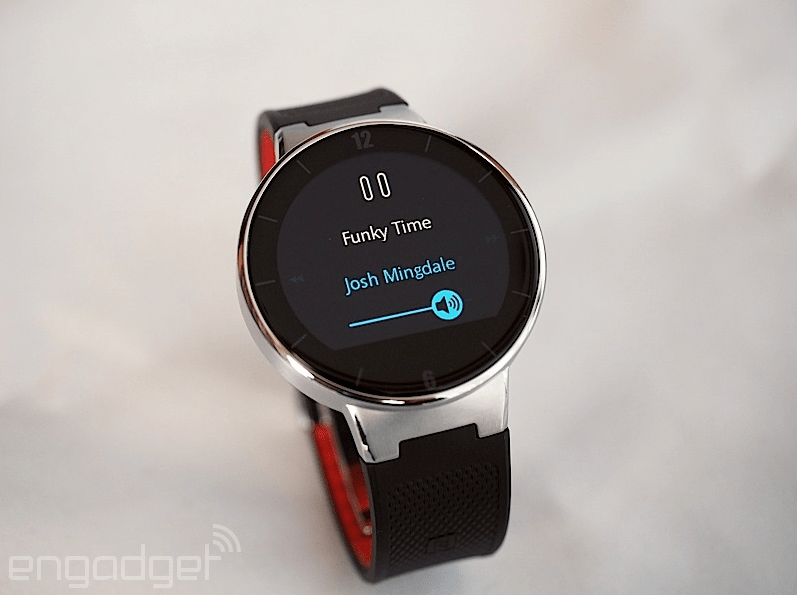 Alcatel Smartwatch Announced with Round Dial at €99 in ...