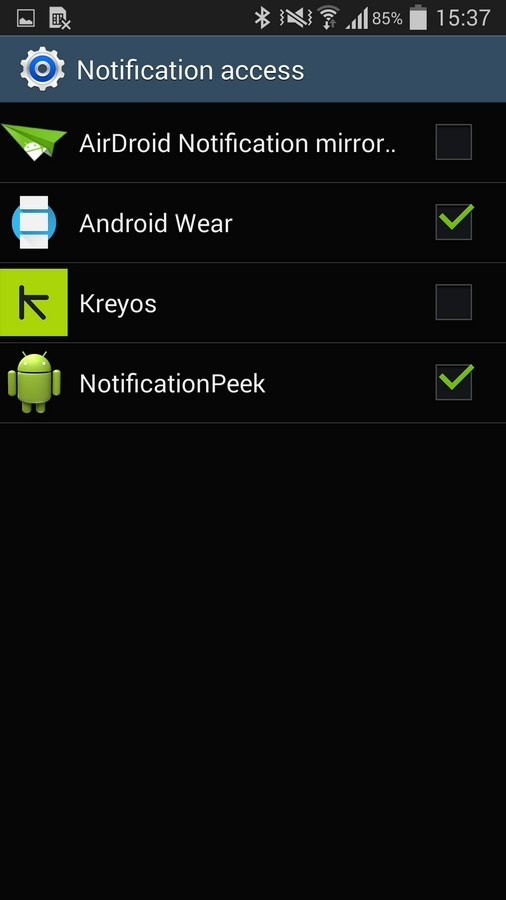 Android Wear App - Notifications