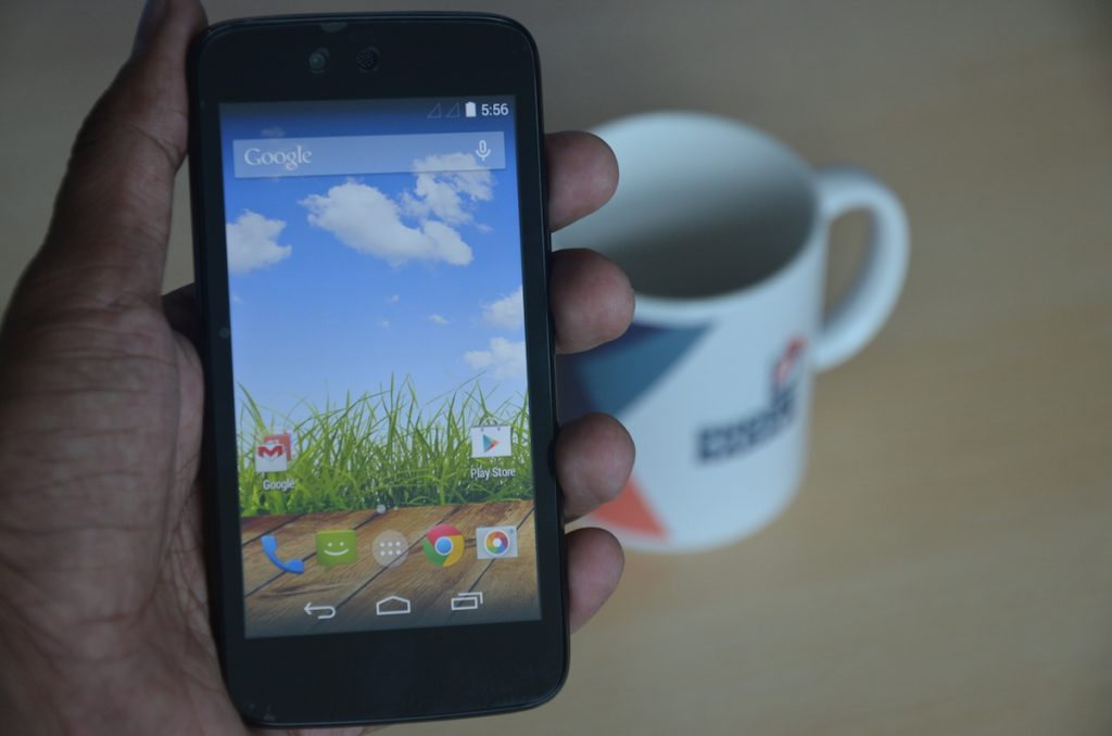 Micromax Canvas A1 Hands-on