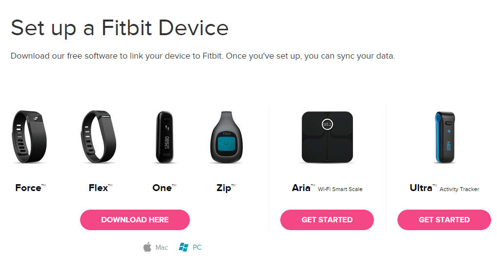 Hook up fitbit