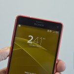 Sony Xperia Z3 Compact Front Top