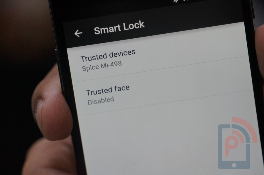 Android Lollipop Feature Smart Lock