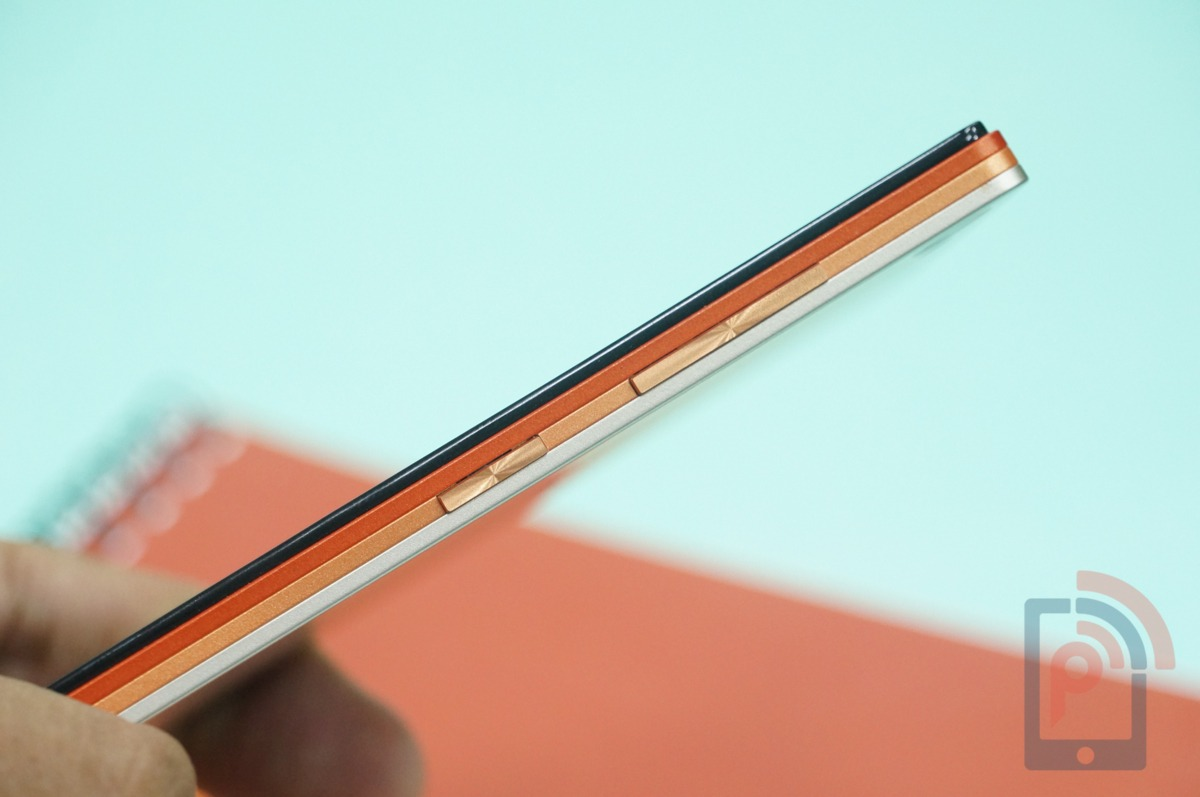 Lenovo Vibe X2 Review Right Buttons