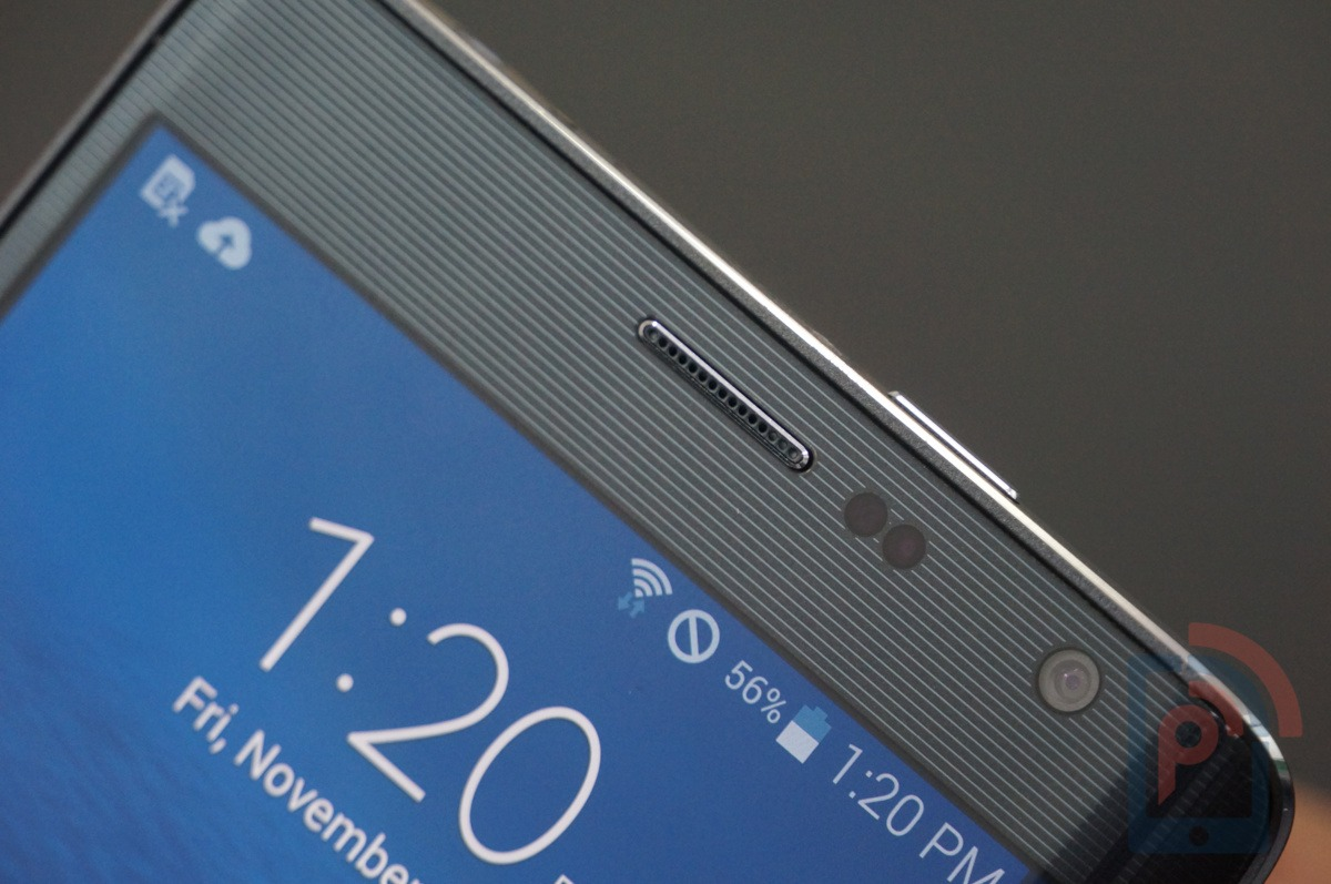 Samsung Galaxy Note Edge Front Top