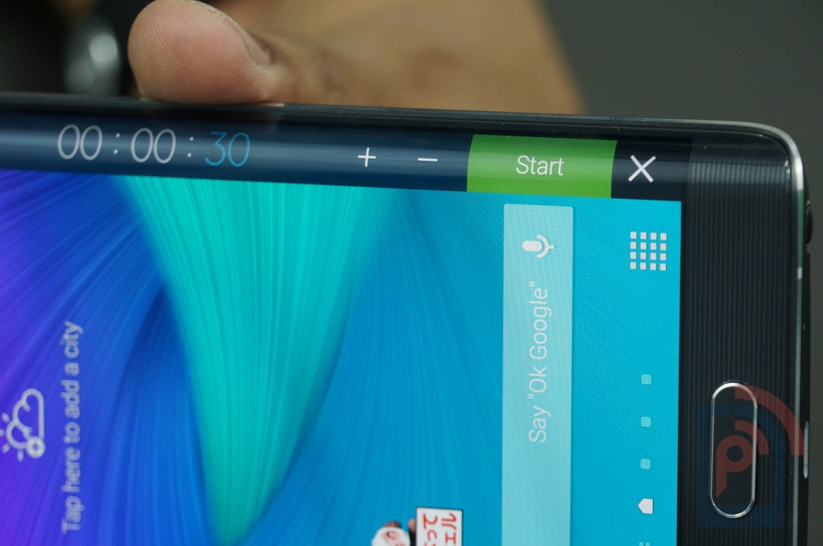 Samsung Galaxy Note Edge Screen Functions 2
