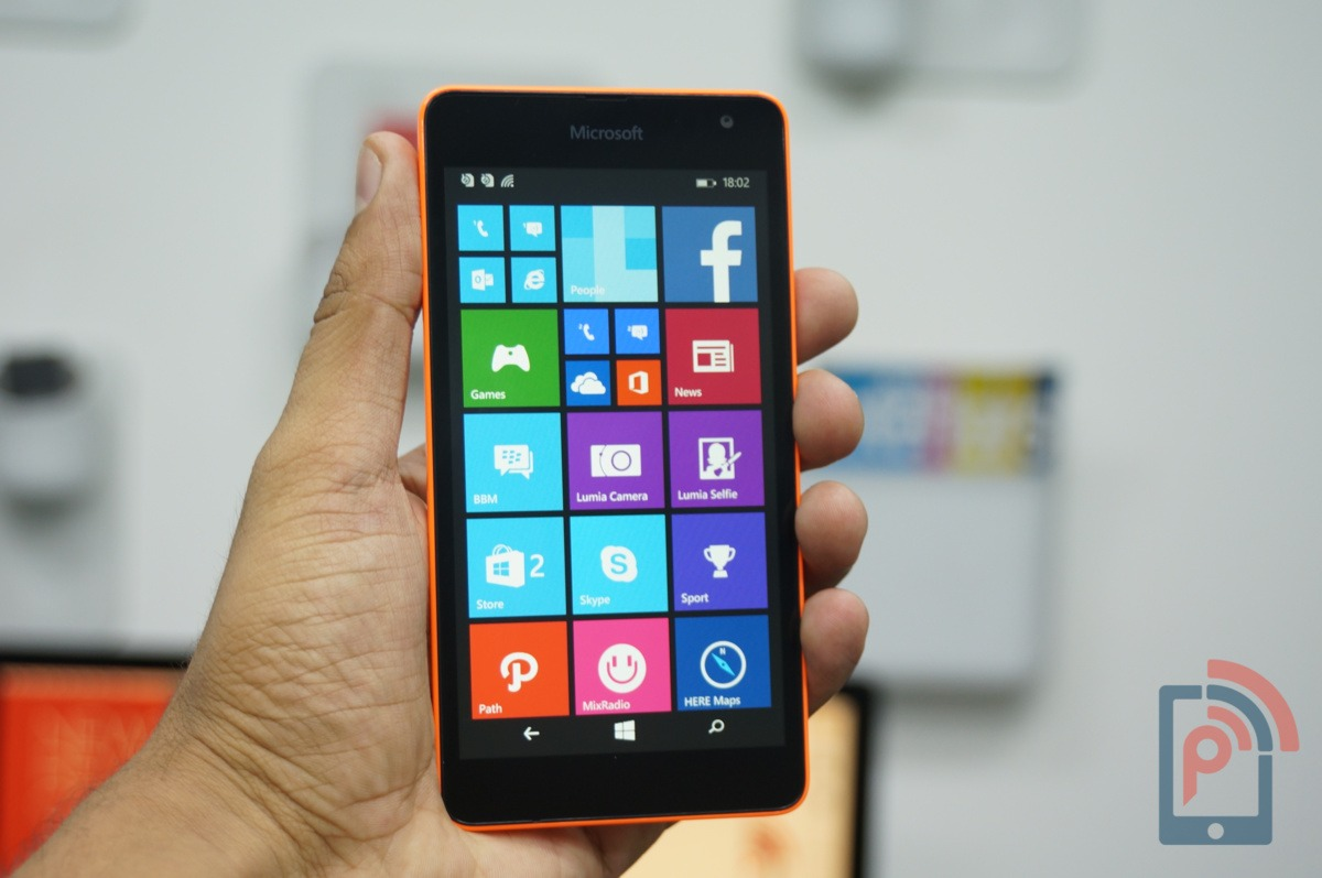 Microsoft Lumia 535 Review » PhoneRadar