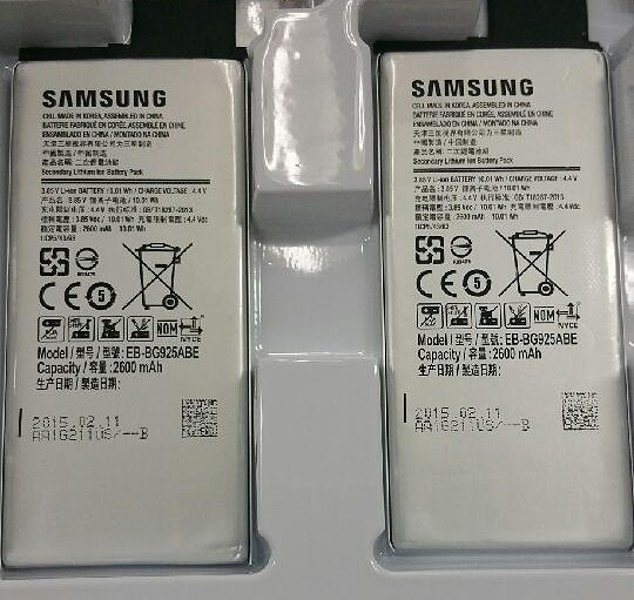 Galaxy S6 battery