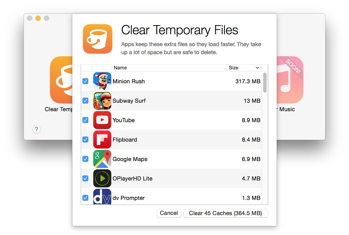 clear app cache iphone delete cache files amp increase storage on iphone with phone 7852