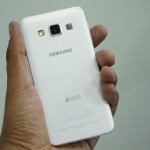 Samsung Galaxy A3 Hands-on Back