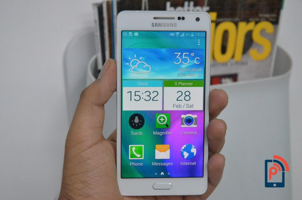 Samsung Galaxy A5 - Easy Mode