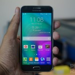 Samsung Galaxy E5 Hands-on Front