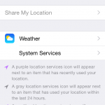 Turn OFF Other Location Monitoring (1)
