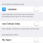 iPhone - Stop Automatic App Updates (3)