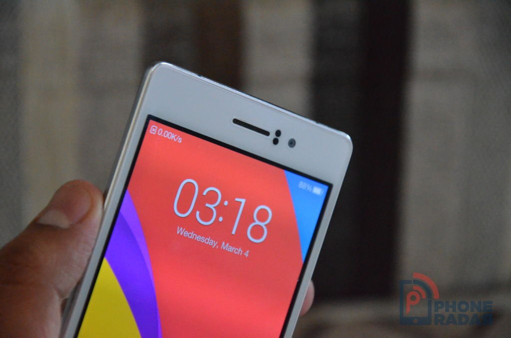 Oppo R5 Front Top