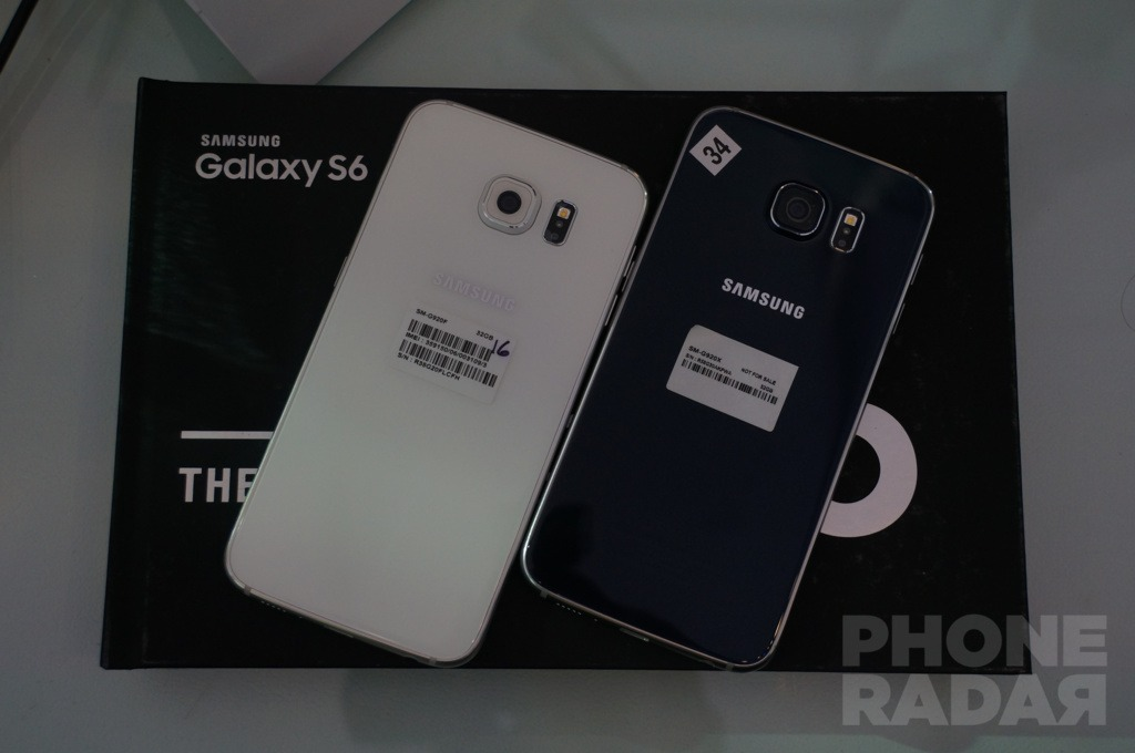 Samsung Galaxy S6 Colors
