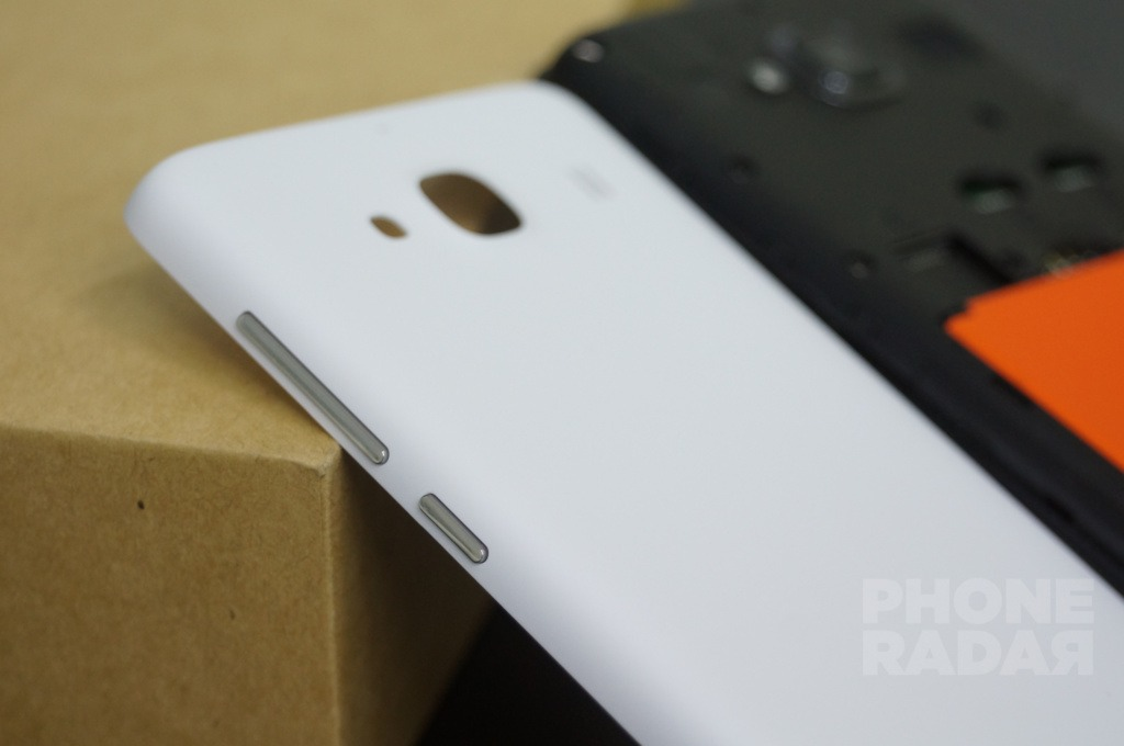 Xiaomi Redmi 2 Side Buttons on Back Cover