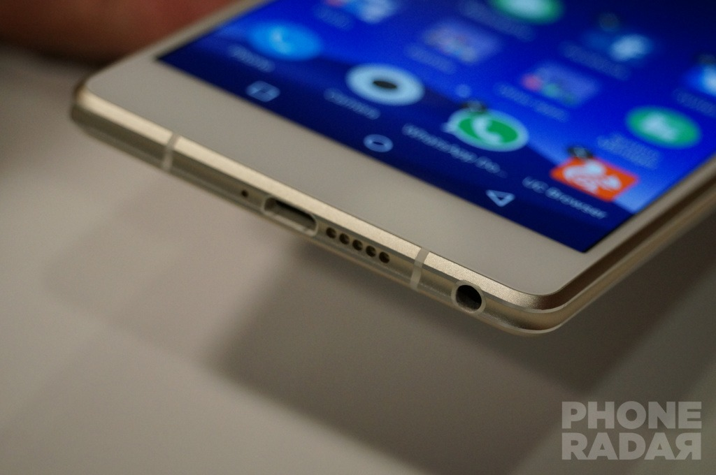 Gionee Elife S7 Hands-on Bottom