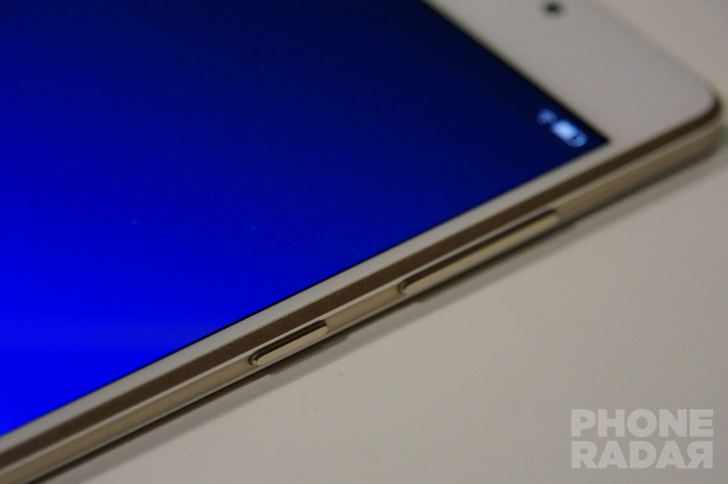 Gionee Elife S7 Hands-on Right Buttons