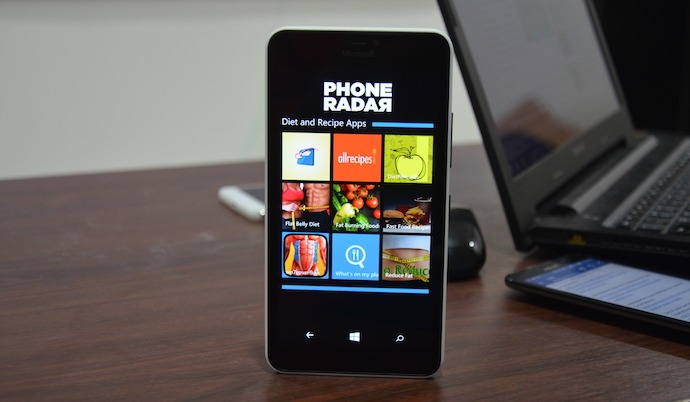 Diet and Recipe Apps Windows Phone
