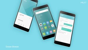 MIUI7 Default Theme Ocean Breeze
