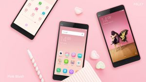 MIUI7 Default Theme Pink Blush
