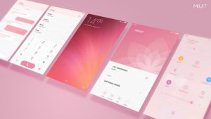 MIUI7 Default Theme Rose