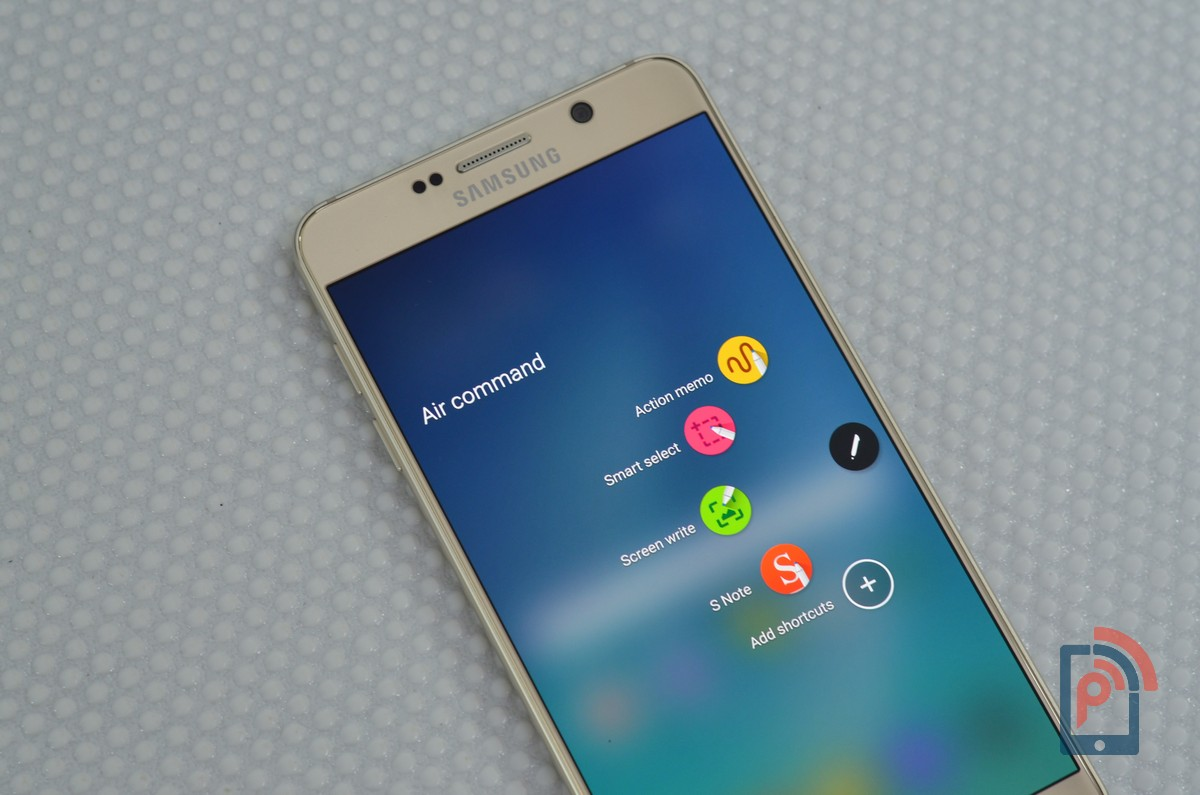 Samsung Galaxy Note 5 - Air Commands