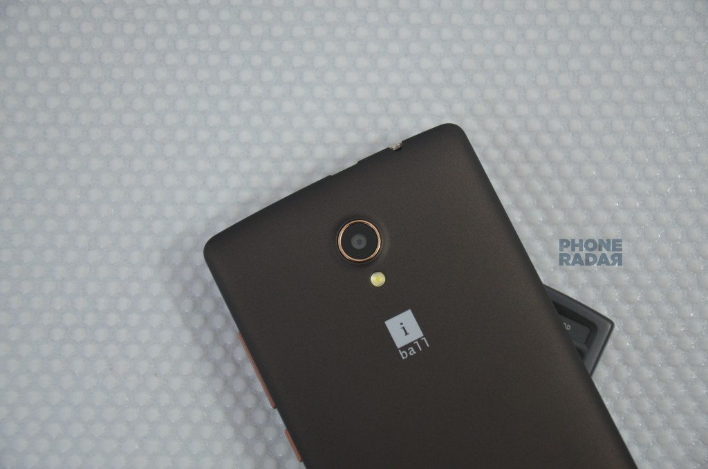 iBall Cobalt rear camera