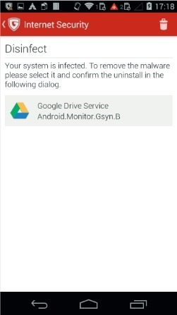 Disguied Google Drive App