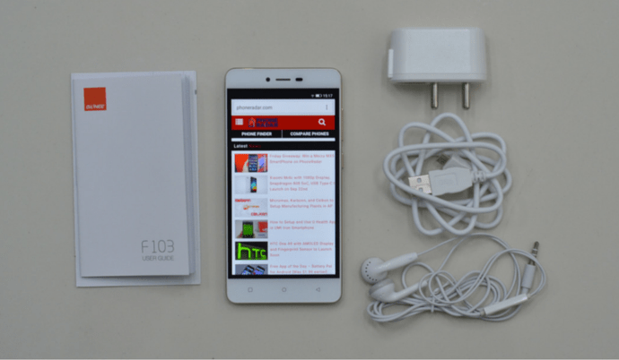 Gionee F103 featured Image