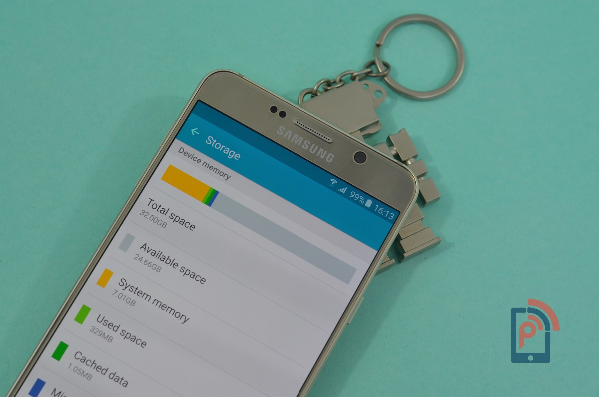 Samsung Galaxy Note 5 - Storage Space
