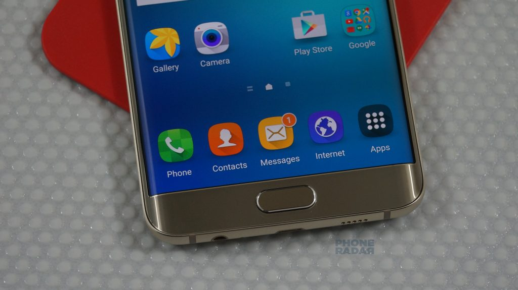 Samsung Galaxy S6 Edge+ bottom