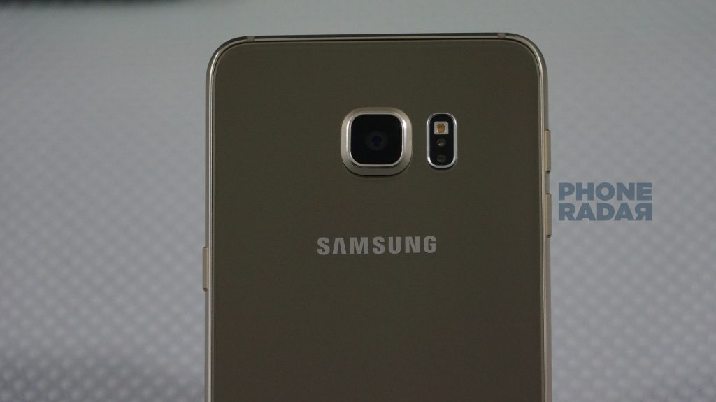 Samsung Galaxy S6 Edge+ rear camera