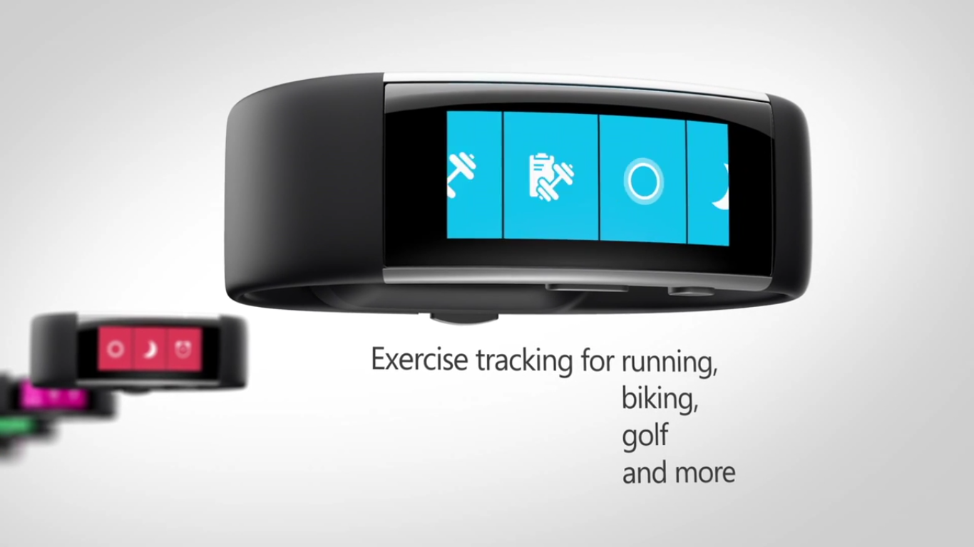 Microsoft Band - Exercise Tracking