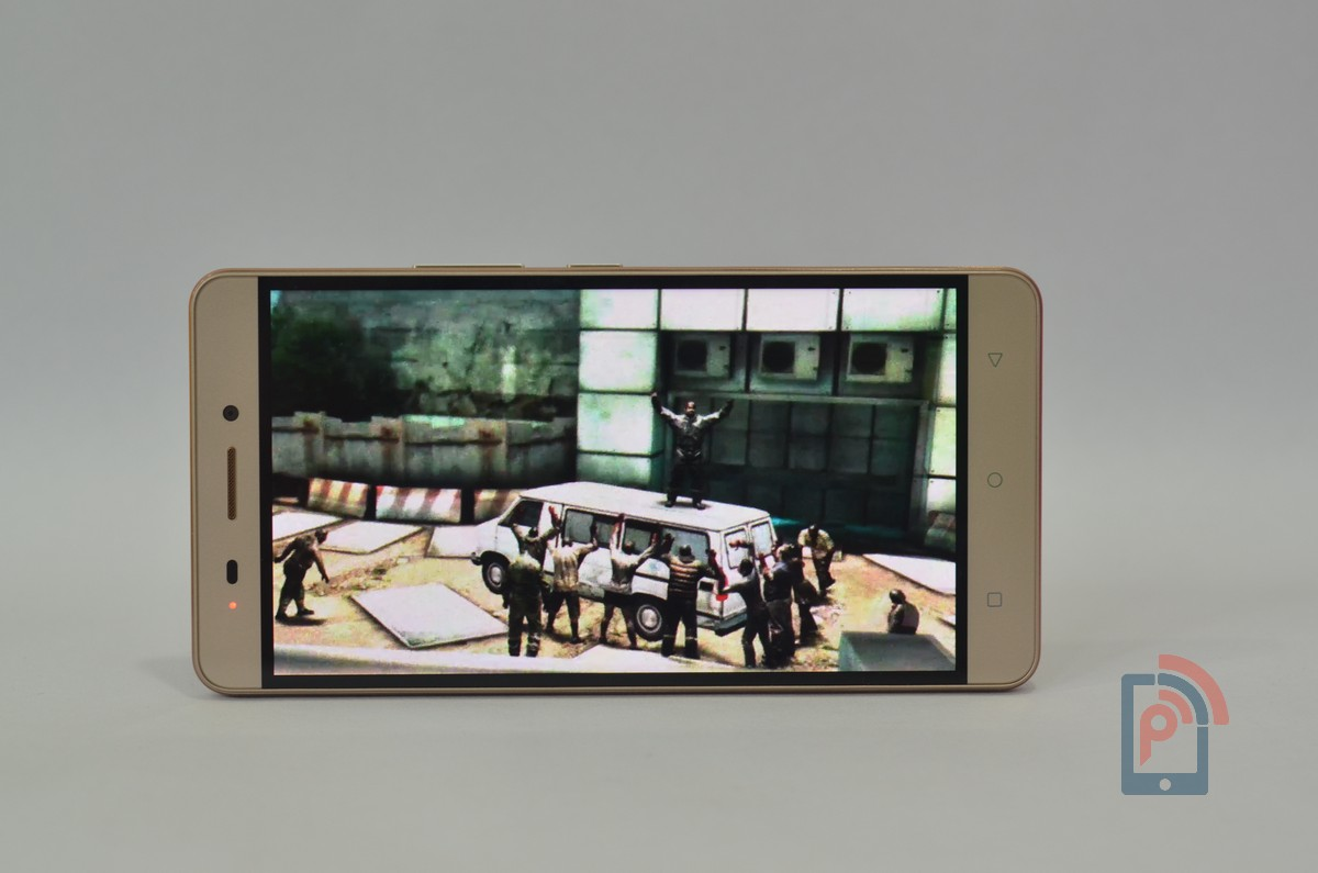Gionee Marathon M5 - Display