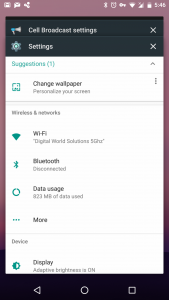 Android N Preview Build - Recent App UI