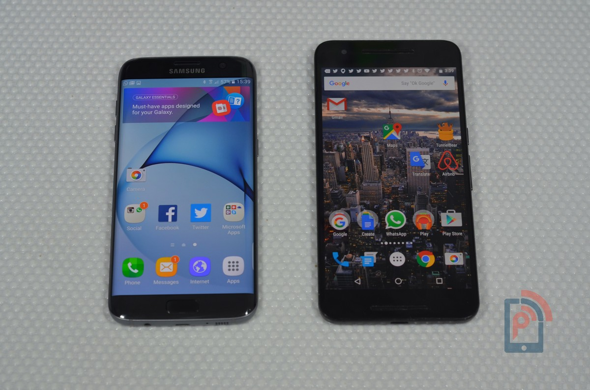 samsung galaxy s7 edge vs huawei nexus 6p smartphone comparison phoneradar. Black Bedroom Furniture Sets. Home Design Ideas
