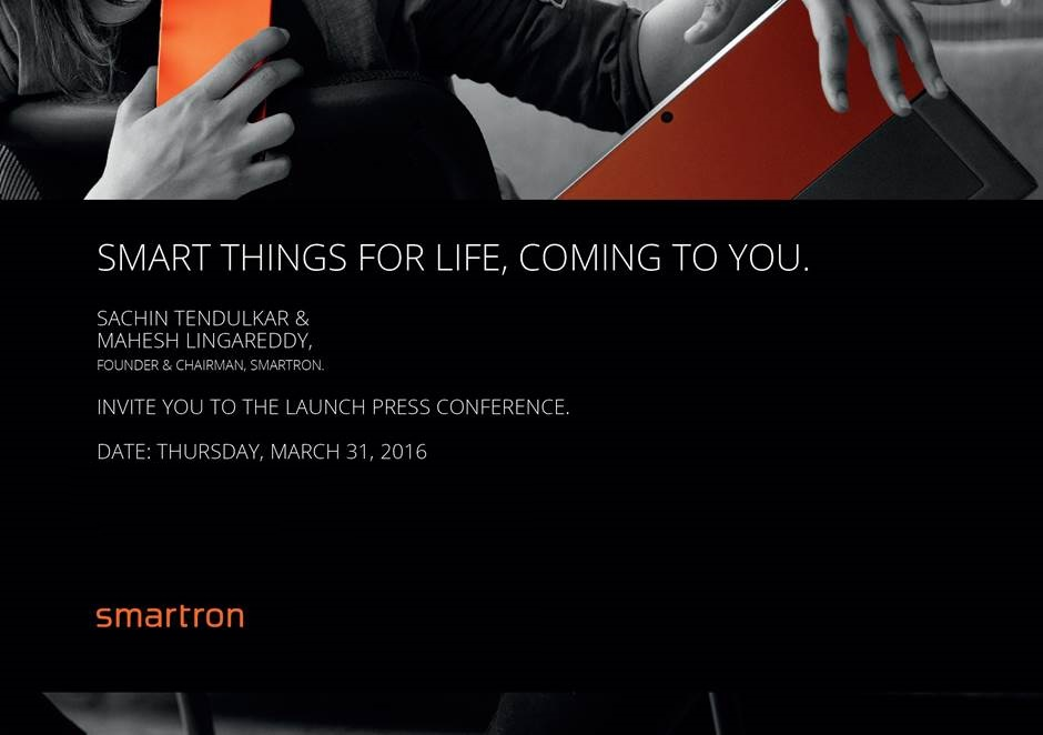 Smartron - Press Invite
