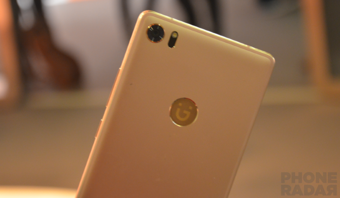 Gionee s8 rose gold