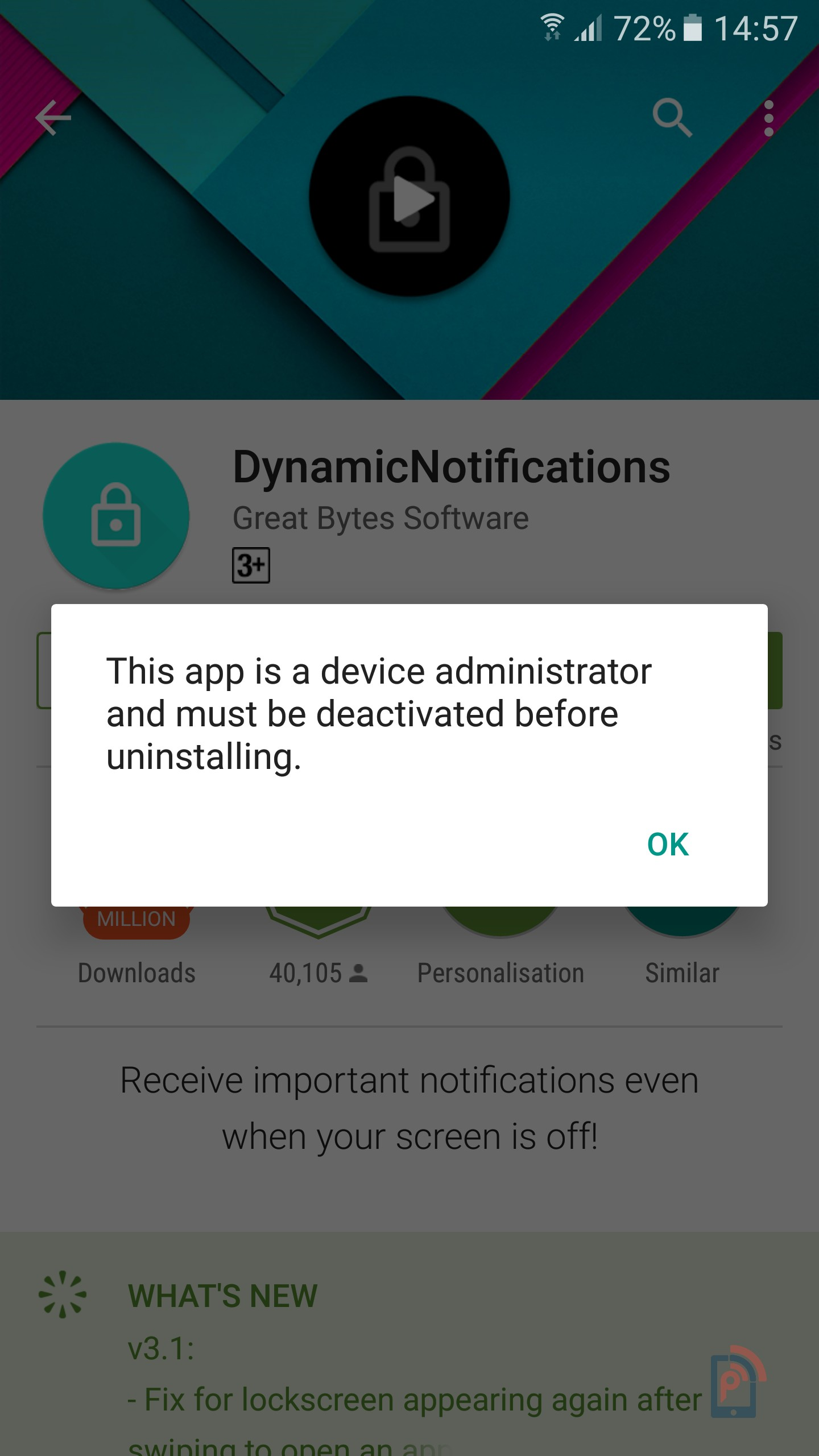 how to delete or uninstall app from samsung phone