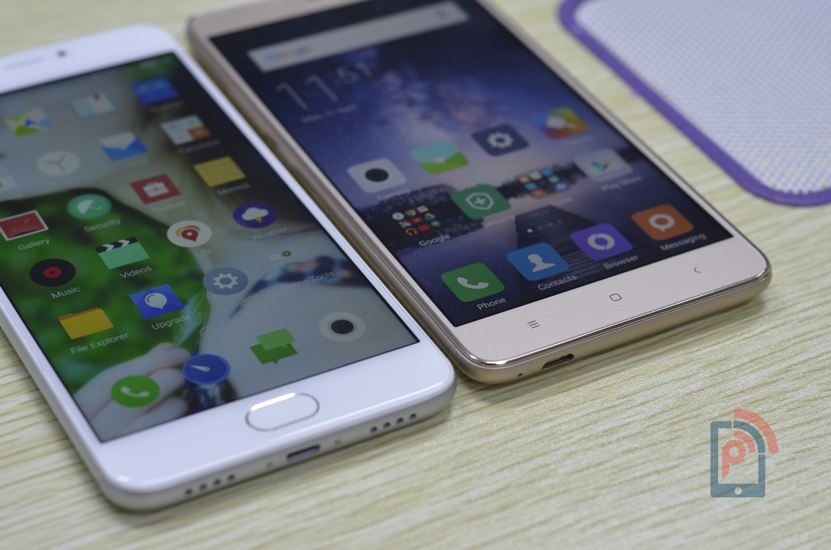 meizu m3 note vs xiaomi redmi note 3 smartphone comparison