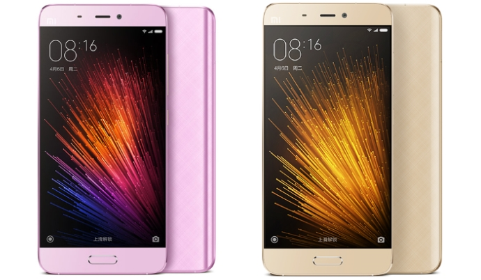 Xiaomi Mi 5 With 3GB RAM Launched In Gold Purple Colors